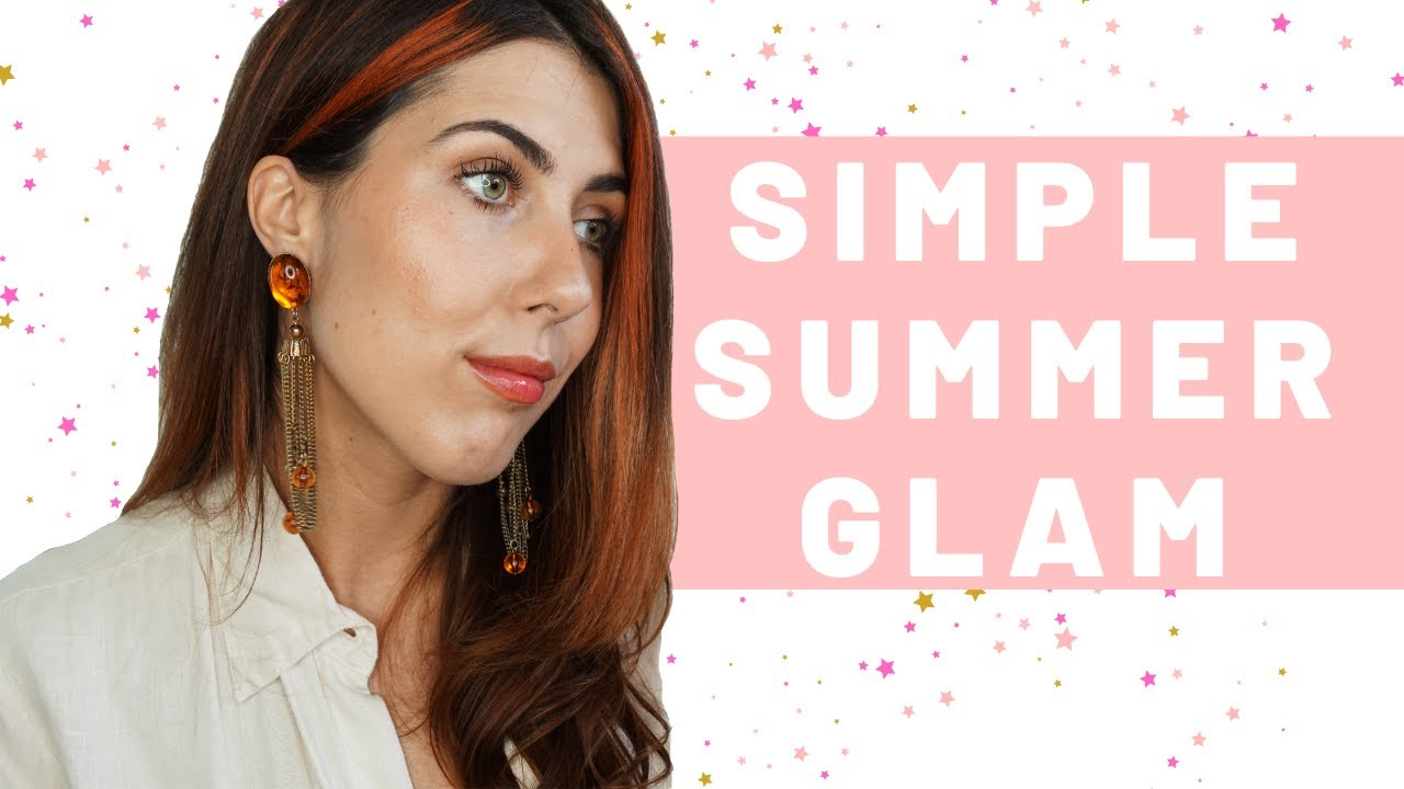 SIMPLE SUMMER GLAM USING ALL NATURAL PRODUCTS! | Integrity Botanicals