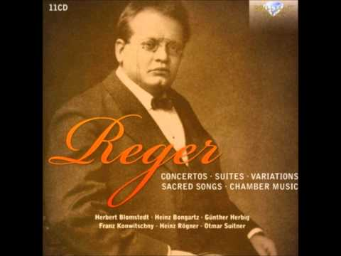 Reger Variations and Fugue on Mozart's Theme