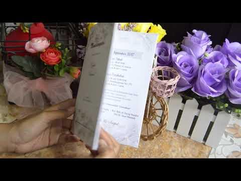 Kartu Undangan Pernikahan 0856-4802-3427