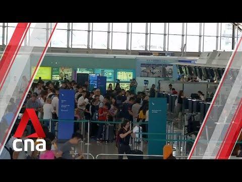 Several Cathay Pacific Flights Between Hong Kong And Singapore Cancelled