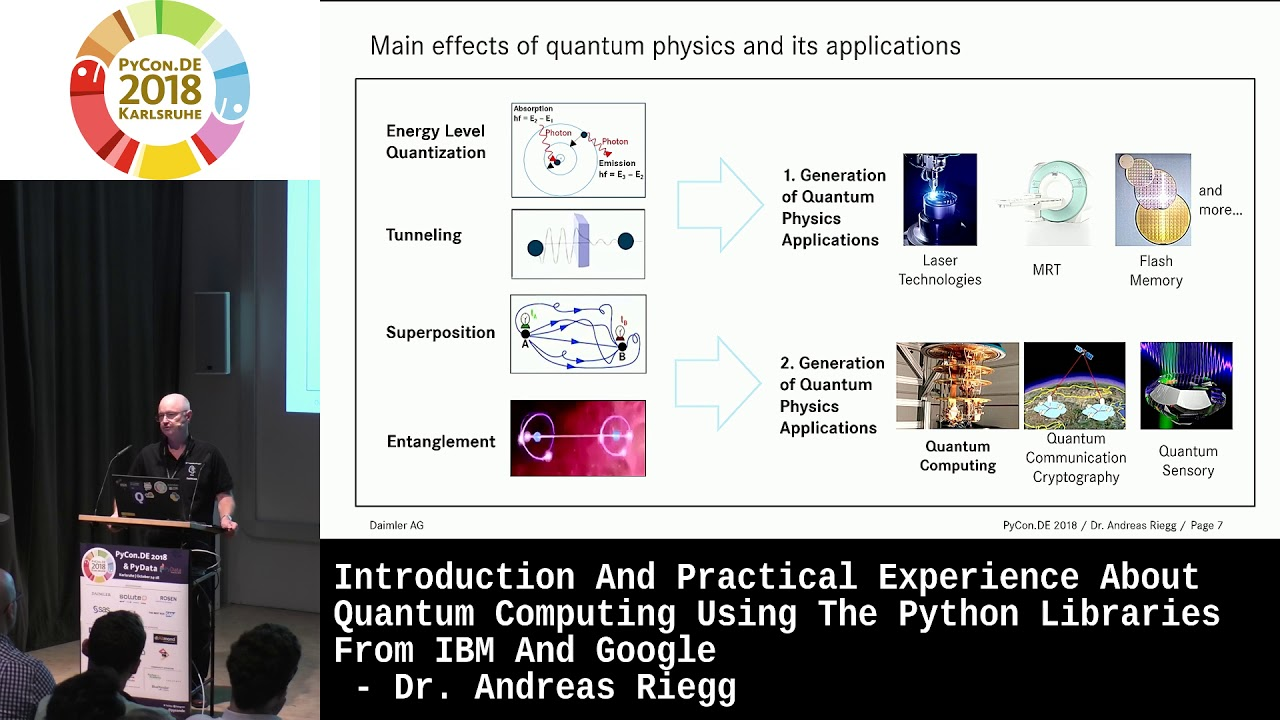 Image from Introduction and practical experience about Quantum Computing using the Python libraries from IBM and Google