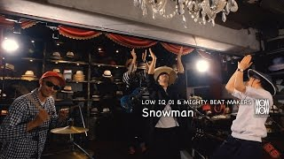 "LOW IQ 01 & MIGHTY BEAT MAKERS / Snowman inc.AL""THE BOP"" - 2016.07.06 on sale"