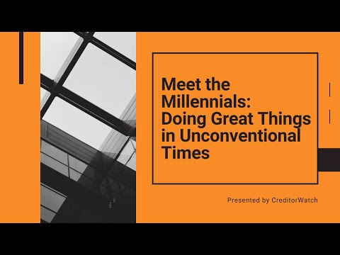 Meet the Millennials: Doing Great Things in Unconventional Times
