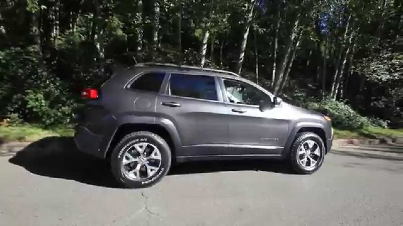 2015 jeep cherokee trailhawk granite fw521079 bellevue seattle youtube. Black Bedroom Furniture Sets. Home Design Ideas