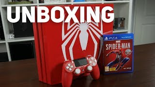 Unboxing PS4 Pro - Edycja Spider-Man