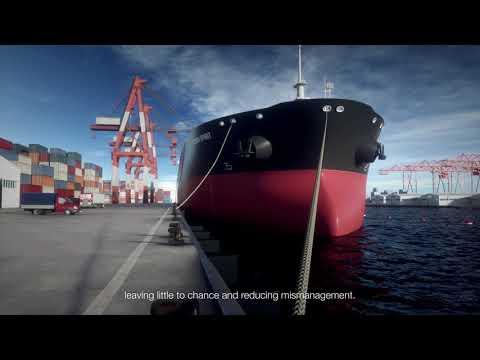 Smart ropes for ships