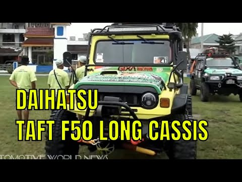 4X4 OFF-ROAD DAIHATSU TAFT F50 LONG CASSIS