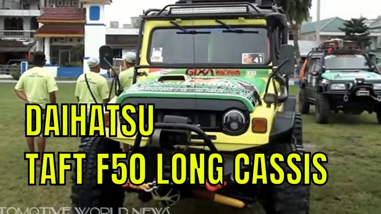 4X4 OFF-ROAD DAIHATSU TAFT F50 LONG CASSIS