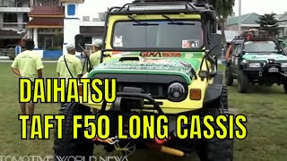 Download Video 4X4 OFF-ROAD DAIHATSU TAFT F50 LONG CASSIS MP3 3GP MP4