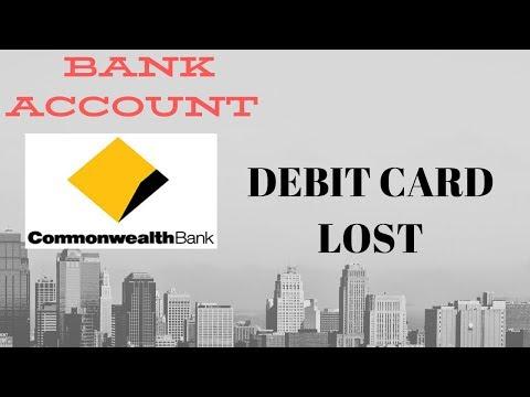 DEBIT CARD | NEW BANK ACCOUNT | COMMONWEALTH BANK