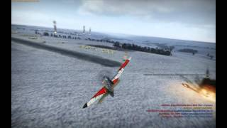 War Thunder Bf109F-4/trop 3x20mm MG151 + 2x7,92mm MG17