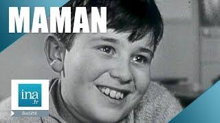 1964 : Des enfants parlent de leur maman | Archive INA
