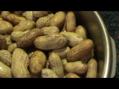 Pressure Cooking Boiled Peanuts