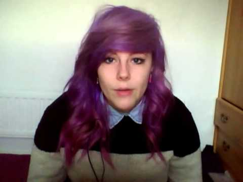 How to get pastel / lilac hair from brown or black hair ...