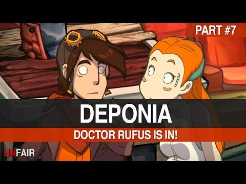 Deponia - Part 7 - Doctor Rufus Is In!