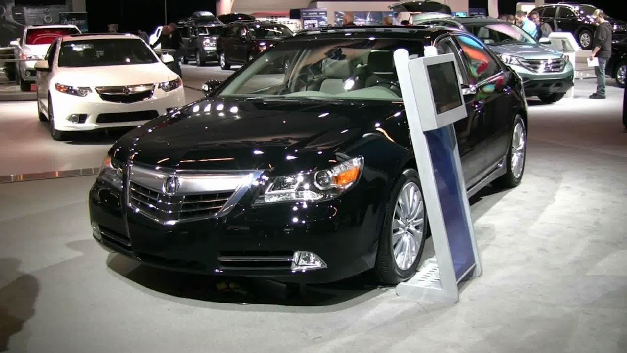 2012 acura rl exterior and interior at 2012 montreal auto show 2012 salon de l auto de montreal youtube