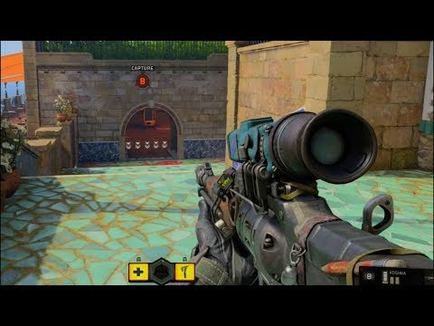 OpTic Pamaj - First Black Ops 4 Sniper Multiplayer Gameplay (2018 COD)