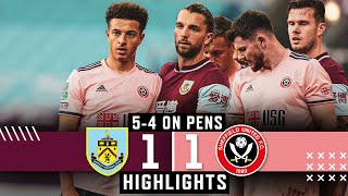 Burnley 1-1 Sheffield United | Penalty shoot-out loss for Blades | Carabao Cup Highlights