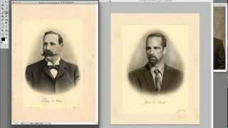 Photoshop Tutorial:  Recreating Old Fashioned Portraits (Part 2)