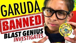Beyblade Burst World Tour | GARUDA BANNED | Blast Genius Investigates