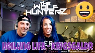Heilung  LIFA - Krigsgaldr LIVE | THE WOLF HUNTERZ Reactions