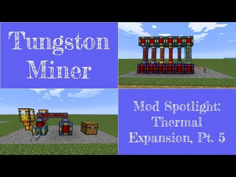 Mod Spotlight: Thermal Expansion, Part 5