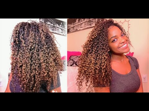 I TRIED HAIR PAINT WAX!! TEMPORARY HAIR COLOR ON BLACK NATURAL HAIR mofajang  YouTube
