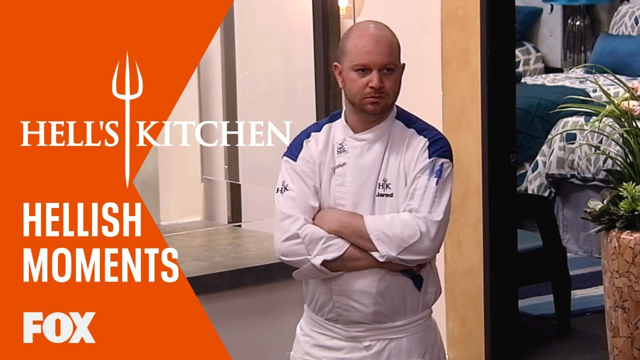 Hellish moments jackie gets in kristin 39 s face season 15 for Hell s kitchen season 15 episode 1