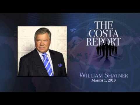 William Shatner - The Costa Report - March 1, 2013