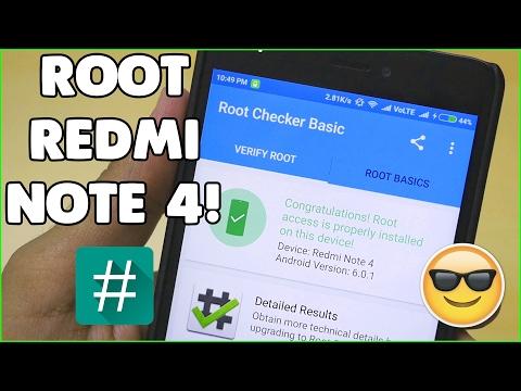 Cara Terbaru Root Xiaomi Redmi Note 4 (4X) Mido (Snapdragon) miui 10 Dan, Cara ini juga bisa di tera.