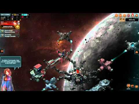 VEGA Conflict Gameplay First Look Browser Online Game