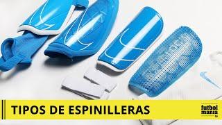 escucho música fuga Alegre  TIPOS DE SUJECIÓN Espinilleras Nike - YouTube
