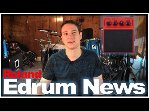 Edrum News: Roland SPD One: Wave/Electro/Kick/Percussion Pads Unveiled