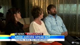 "3 Jodi Arias Jurors Who Voted For the Death Penalty Speak Out in TV Interview: ""Jodi Played Us"""