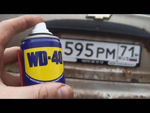 Зачем ГОСНОМЕР авто смазывать WD-40? Про ЭТО знают НЕ ВСЕ!