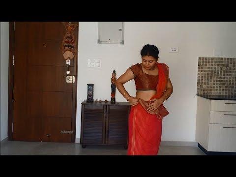 How to drape an OSARIA, Sri Lankan Saree