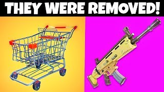 7 Things You Didin't Know Were Removed From Fortnite!