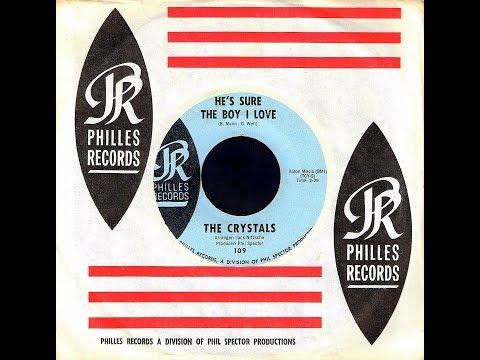 Crystals - HE'S SURE THE BOY I LOVE (alt. version) (Gold Star Studios)  (1962)