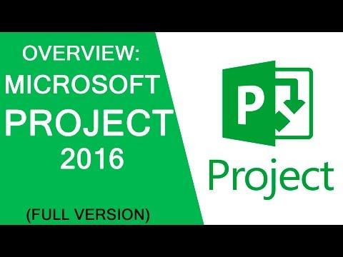 OVERVIEW: Microsoft Project 2016, Александр Терещенко, Алексей Просницкий
