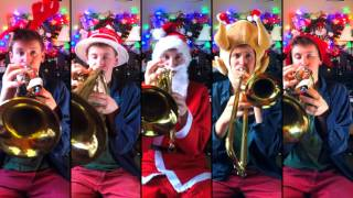 Video We Wish You a Merry Christmas for Brass Quintet with sheet music download MP3, 3GP, MP4, WEBM, AVI, FLV Agustus 2018