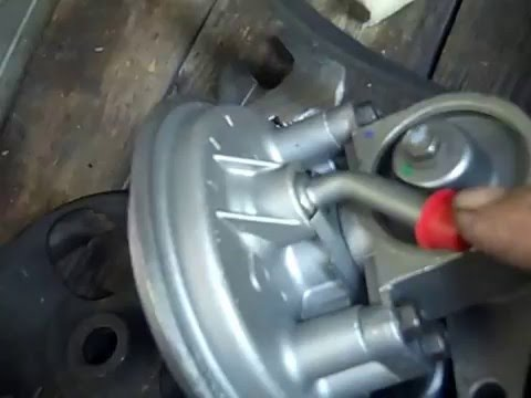 how to change vacuum pump on 1996 gmc 6 5 turbo diesel pickup truck auto  repair