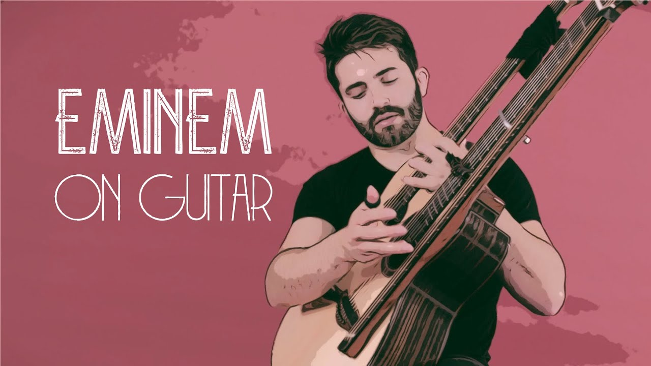 EMINEM ON GUITAR (The Real Slim Shady) - Luca Stricagnoli