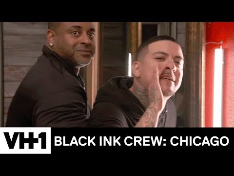 Junior & Van Fight Lily's New Man At Kat's Party | Black Ink Crew: Chicago