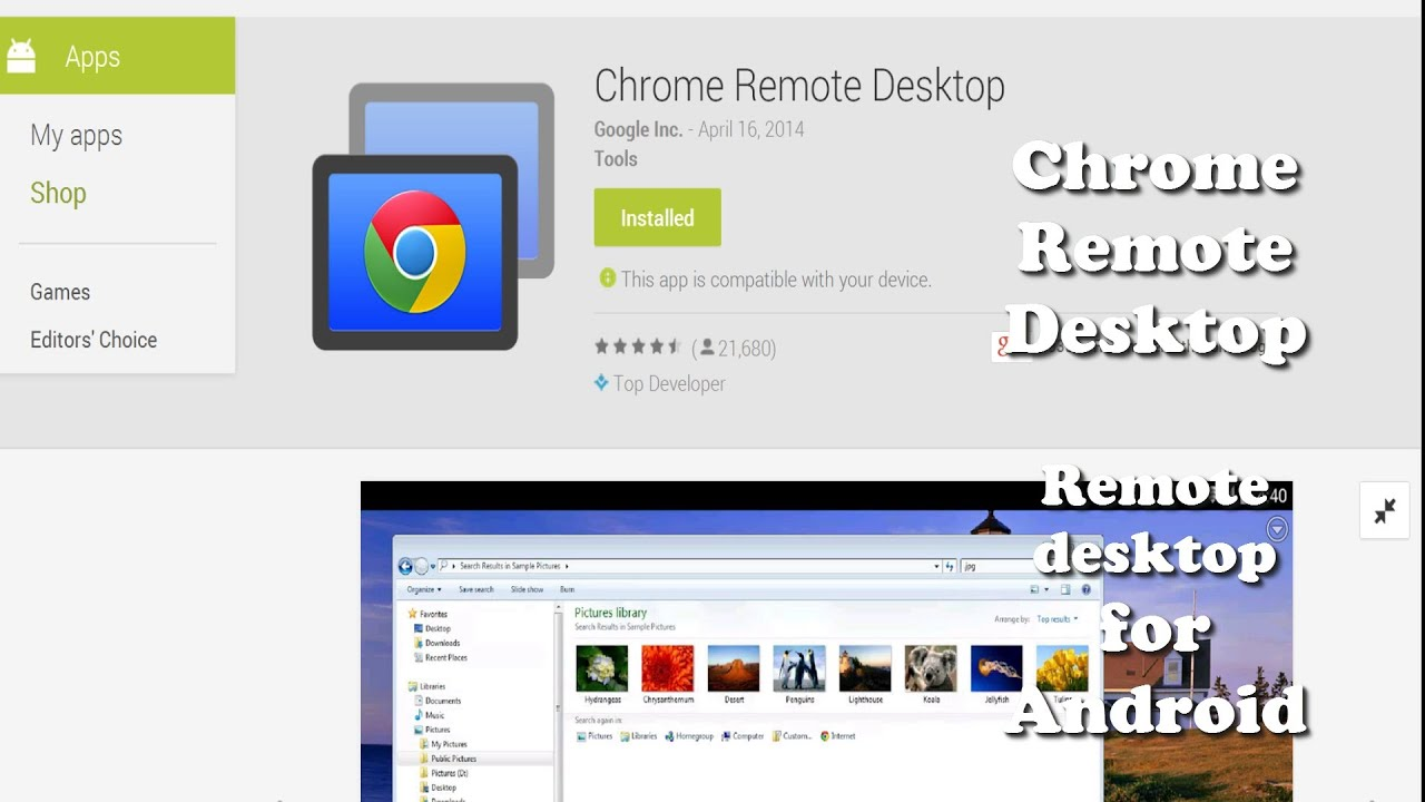 Phone Remote Desktop Using Android Phone control your pc from android phone chrome remote desktop desktop
