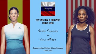Venus Williams vs Garbine Muguruza