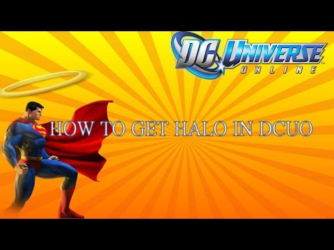 How To Get The New Halo In Dc Universe Online!