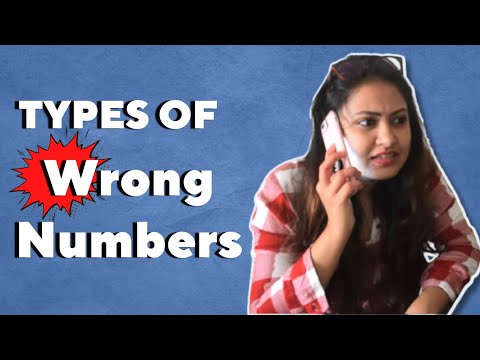 Types Of Wrong Numbers | Captain Nick