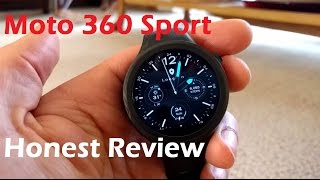 Moto 360 Sport - Honest Review(The Moto 360 Sport, Is it a sport watch or a smart watch? Find out in this honest review., 2016-01-24T22:50:33.000Z)