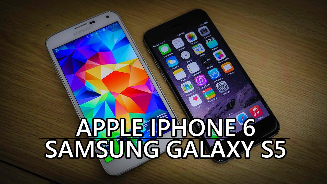 iPhone 6 vs Samsung Galaxy S5 - Quick Look!