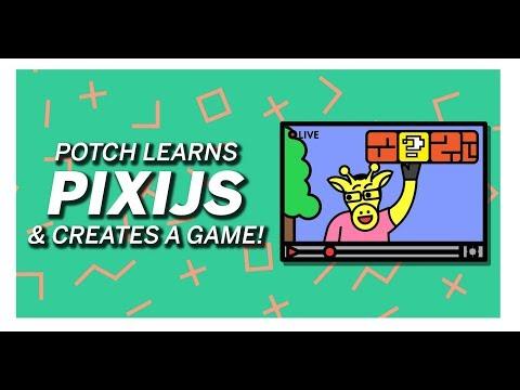 #Tutorial Potch Creates A Custom Game With PixiJS! thumbnail